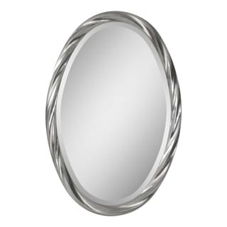 Ren-Wil 'Wiltshire' Oval Twisted Frame Mirror