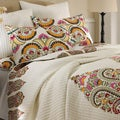 Windsong 3-piece Cotton Quilt Set