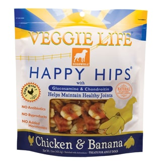 Dogswell Happy Hips Chicken and Banana Dog Treats