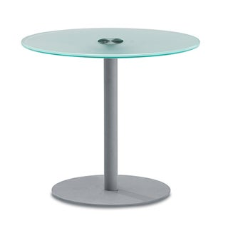 OFM NET Series Large Glass Top Table