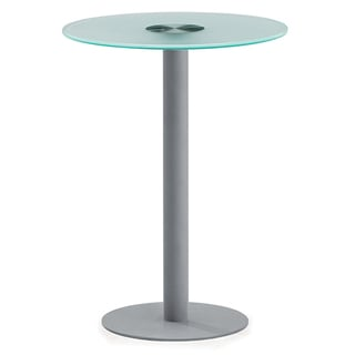 OFM NET Series Small Glass Top Table