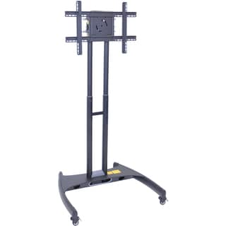 Luxor Steel Adjustable LCD/LED Mount Flat Panel Cart