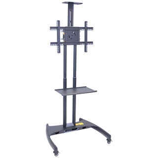 Luxor Adjustable LCD/LED Mount Flat Panel Cart
