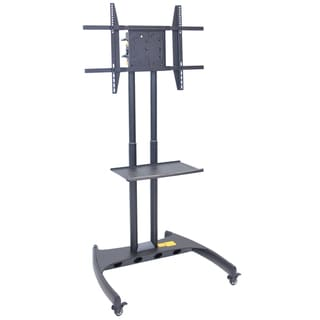 Luxor Adjustable Rotating LCD/LED Mount Flat Panel Cart