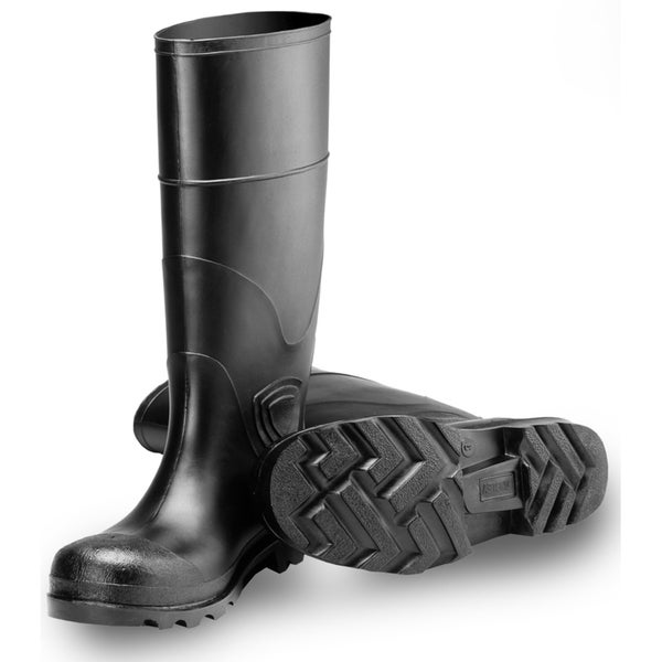 Tingley Unisex Black 15-inch Economy PVC Working Boots