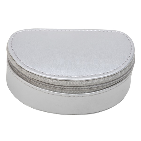 White Leatherette Jewelry Boxes (Case of 64)