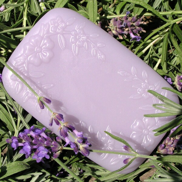 PureGreen French Lavender Soap (Set of 3)