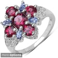 .925 Sterling Silver Gemstone Ring