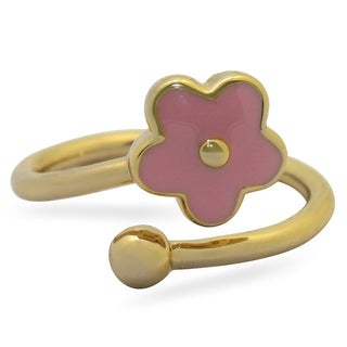 Gioelli Junior Jewels Children's Enamel Flower Ring