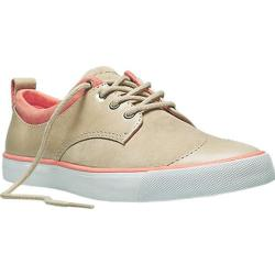 Women's PF Flyers Etta Grey/Coral Leather