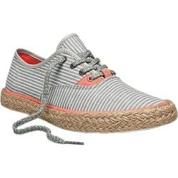 Women's PF Flyers Windjammer II Canvas Silver Stripe Canvas