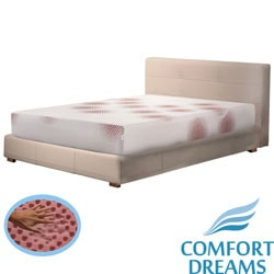 Comfort Dreams Lifestyle Collection Performance 10-inch Full-size Memory Foam Mattress