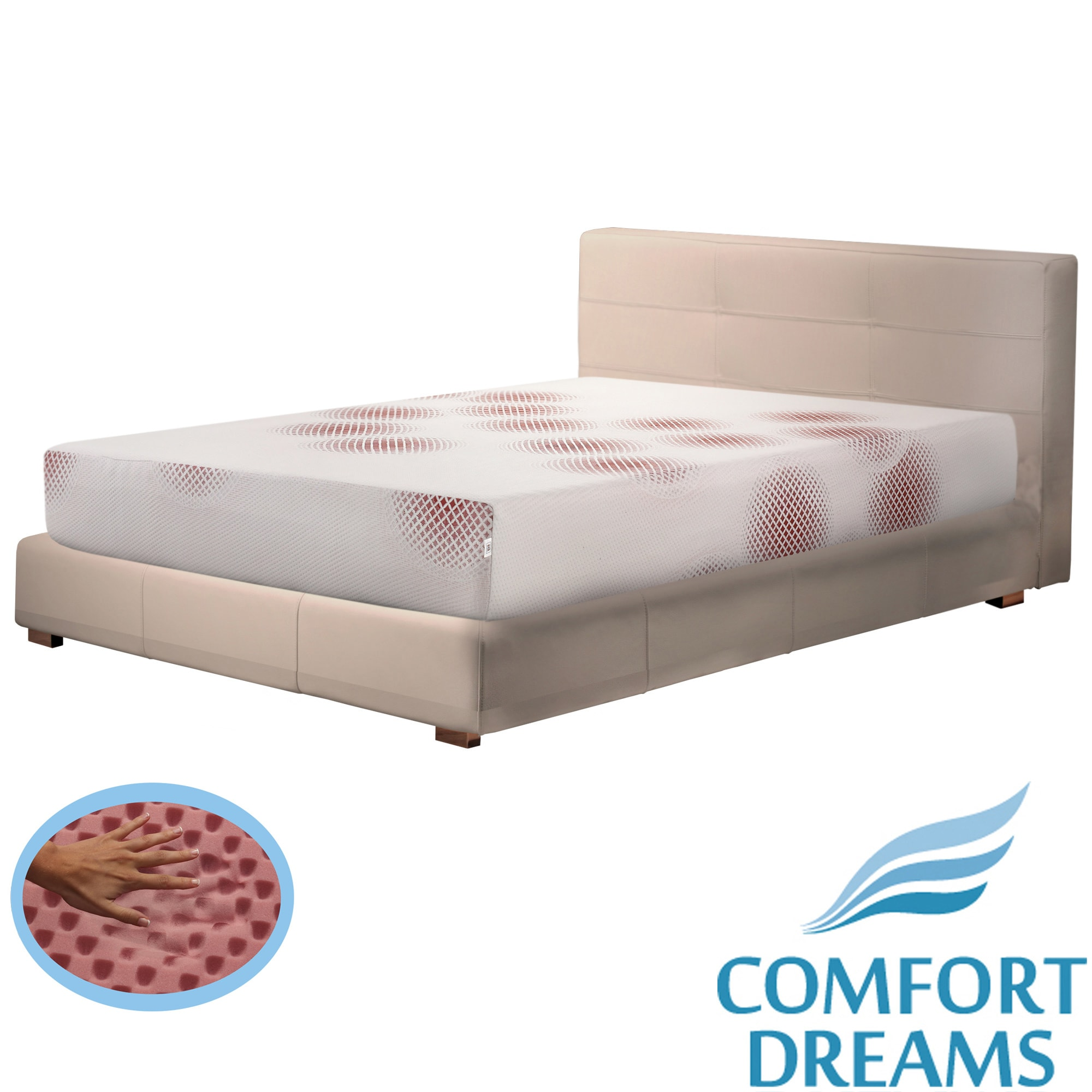 Comfort Dreams Lifestyle Collection Performance 10-inch King-size Memory Foam Mattress at Sears.com