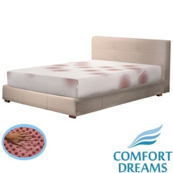 Comfort Dreams Lifestyle Collection Performance 10-inch Queen-size Memory Foam Mattress