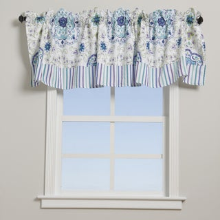 Esprit Blue Window Valance