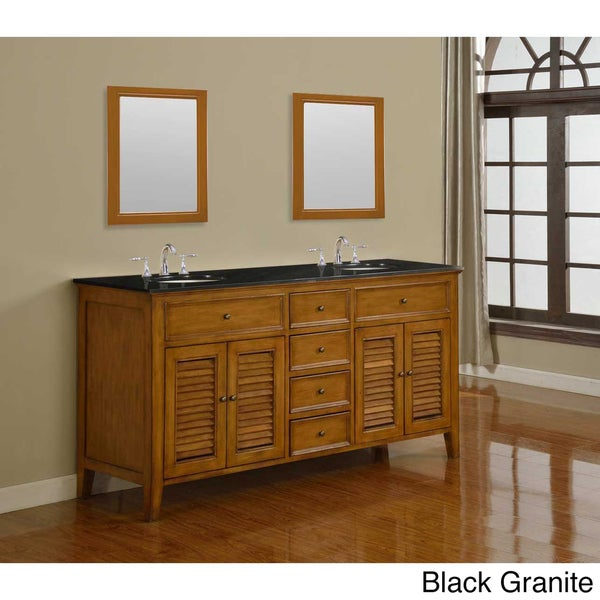 small bathroom trough sink with cabinet