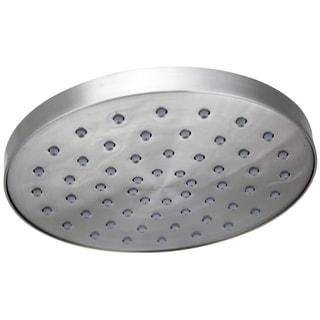 Jado Contemporary Ultra Steel 6-inch Round Showerhead