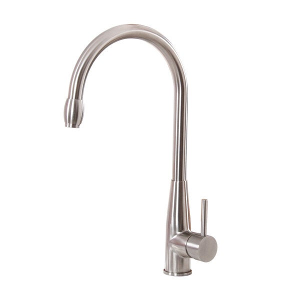 elite brushed nickel single handle kitchen faucet