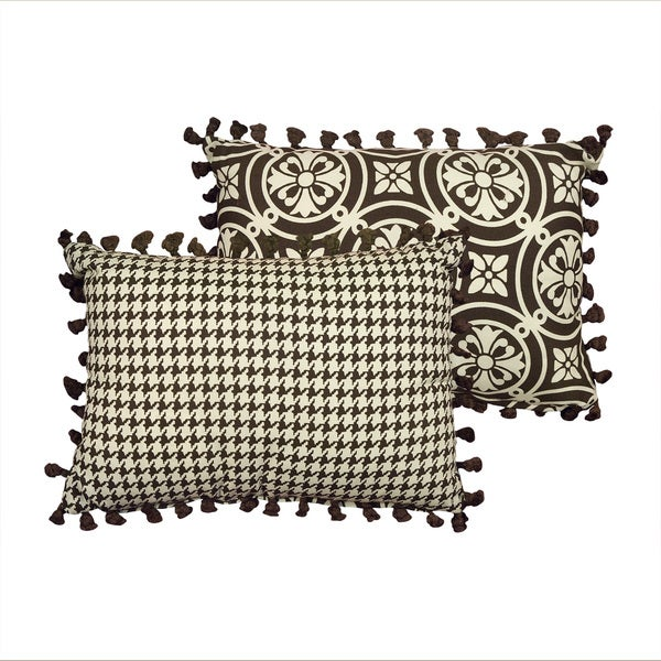 Rose Tree 'Dylan' 14x20 Reversible Medallion Decorative Pillow