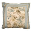 Rose Tree 'Madeline' Reversible Traditional Floral Euro Sham
