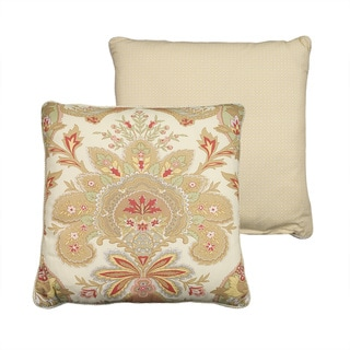 Rose Tree 'Lyon' 18-inch Square Pillow