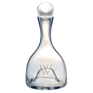 Monogrammed Lenox Aerating Wine Decanter