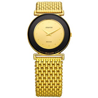 Jowissa Swiss Elegance Women's Polished Goldtone Watch