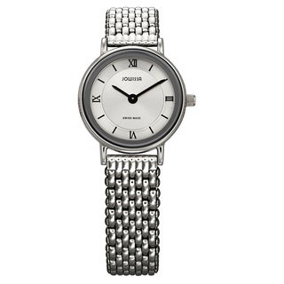 Jowissa Women's Swiss Bari Polished Stainless Steel Watch