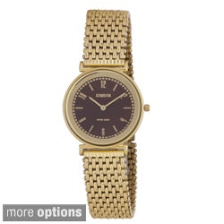 Jowissa Swiss Men's Nuoro Gold PVD Stainless Steel Sunray Watch
