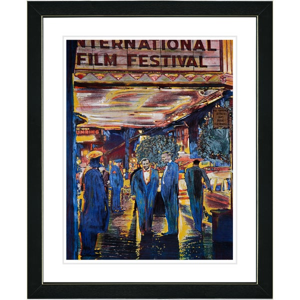 Studio Works Modern 'Film Festival' Framed Print