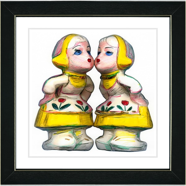Studio Works Modern 'Dutch Treat - II' Framed Print