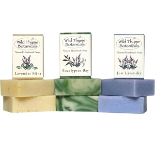 Trio of Lavender Blends Natural Handmade Soaps