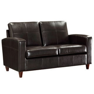 Office Star Products Eco Leather Loveseat
