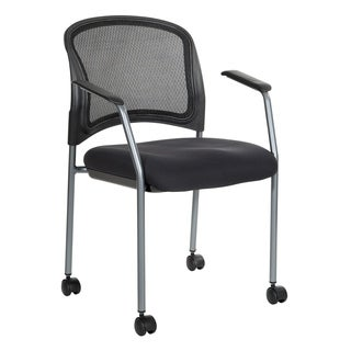 Pro-Line II Breathable ProGrid Rolling Visitor's Chair