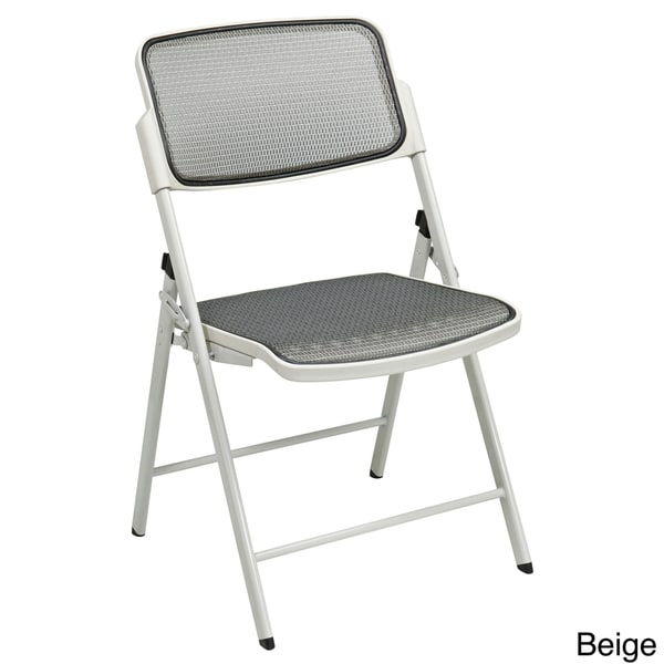 Pro-Line II Big & Tall Armless Padded Folding Chair