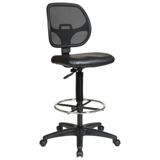 Office Star Products Work Smart Deluxe Drafting Chair