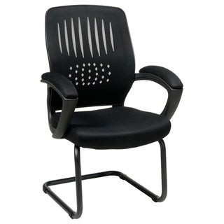 Office Star Products Work Smart Screen Back Visitor's Chair