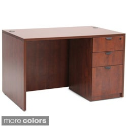 Regenccy Seating 47-Inch Three-Drawer Desk