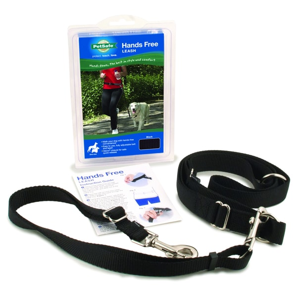 Pet Safe Hands Free Black Leash