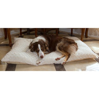 PAW Lavish Cushion Latte/ Cream Pillow Bed