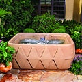 Aqua Rest X-400 Sandstone 4 Person Spa