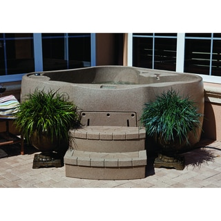 Aqua Rest X-300 Sandstone 2-Person Spa with 13 Jets