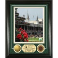 Churchill Downs 'Roses' 24KT Gold Dirt Coin Photo Mint