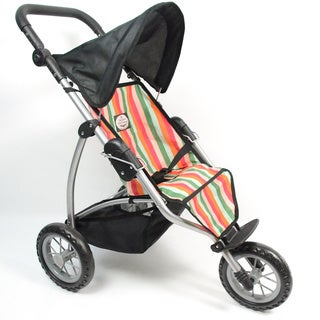 The New York Doll Collection Doll Single Jogging Stroller