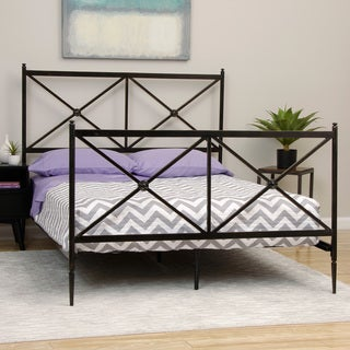 Papillion Black Queen-size Bed