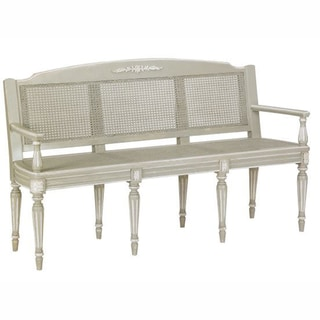 nuLOOM Casual Living Vintage Grey Bench