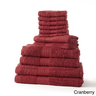 Cotton 12-piece Jumbo Towel Set