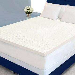 Dream Form Plus Ventilated 2-inch 4-pound High Density Memory Foam Mattress Topper