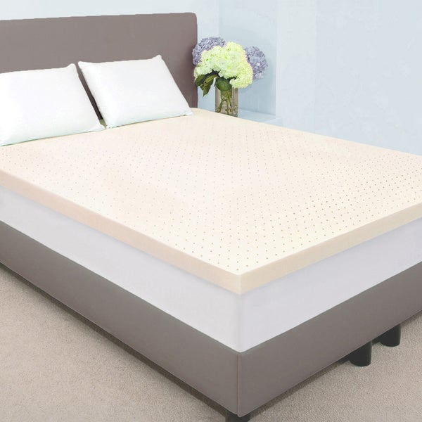Dream Form Plus Ventilated 2-inch 5-pound High Density Memory Foam Mattress Topper