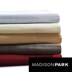 Madison Park 500 Thread Count Egyptian Cotton Damask Stripe Sheet Set